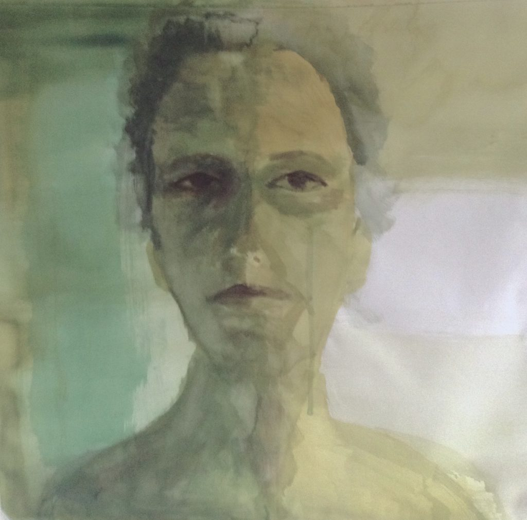 autoretrato Dominique Colinvaux artista bb arte ipanema