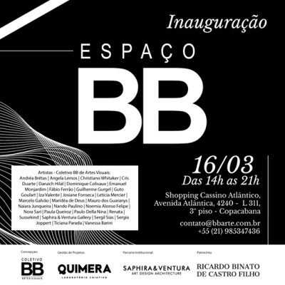 Espaço BB Coletivo BB Artes Virtuais Cassino Atlantico