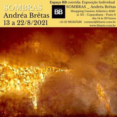 Exposição Sombras Andrea Bretas Shopping Cassino Atlantico Copacabana