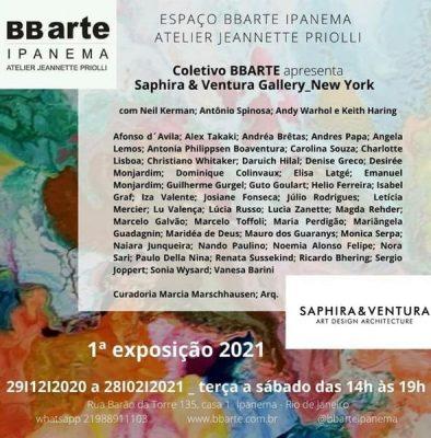Saphira & Ventura Gallery BB Arte Ipanema