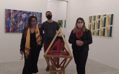 artista do Coletivo BBARTE Letícia Mercier e Daniel e Rejeane