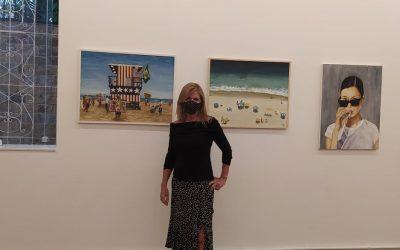 Artista do Coletivo BBARTE Magda Rehder